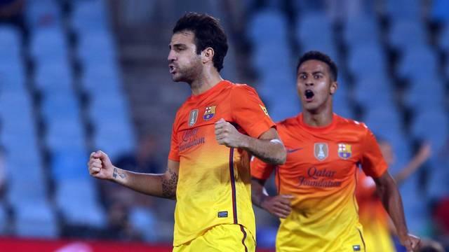 Cesc and Thiago / PHOTO: MIGUEL RUIZ - FCB