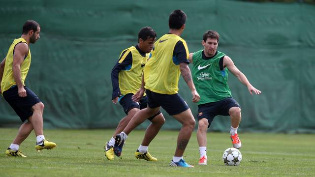 Sunday's training session / PHOTO: MIGUEL RUIZ - FCB