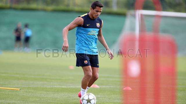 Training session 16/09/12 / PHOTO: MIGUEL RUIZ - FCB