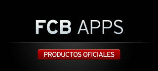 FCB Apps. Productos oficiales