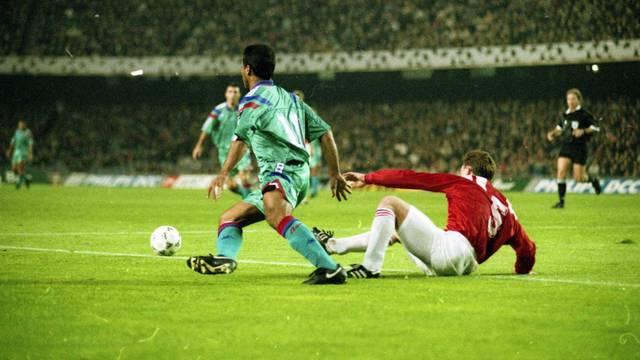 Romàrio, contra l'Spartak al Camp Nou / FOTO: ARXIU FCB