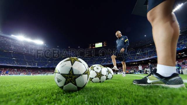 L'autre facette du match face au Spartak de Moscou / PHOTO: MIGUEL RUIZ - FCB