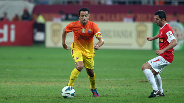 Xavi. PHOTO: MIGUEL RUIZ-FCB.