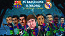 The Barça Toons ready for The Clásico