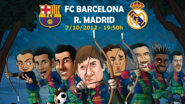 Els Barça Toons, preparats per al Clàssic