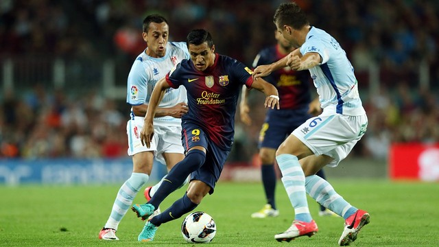 Alexis against Granada / PHOTO: Miguel Ruiz - fcb