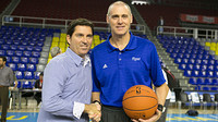 Xavi Pascual and Rick Carlisle / PHOTO: GERMN PARGA-FCB