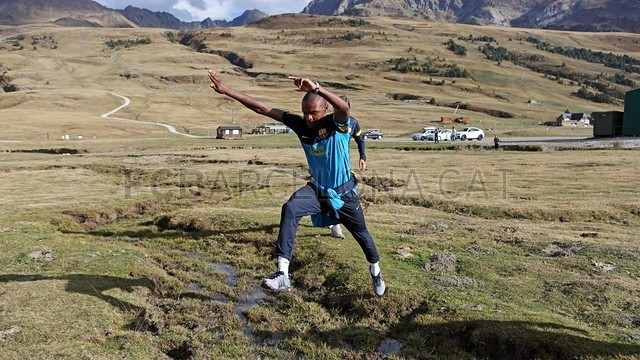 Abidal continues recovery at Val d'Aran / PHOTO: MIGUEL RUIZ - FCB