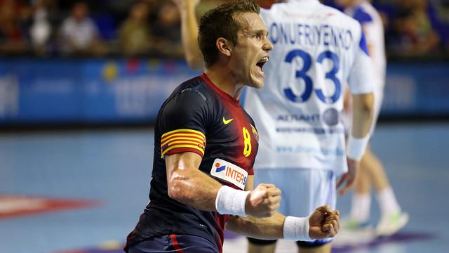 El capitan del FC Barcelona Intersport Víctor Tomàs/ FOTO: Archivo- FCB