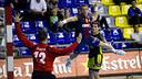 Tomàs scored three goals / PHOTO: ÁLEX CAPARRÓS-FCB