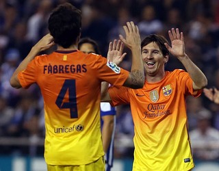 لوانته۰-۴بارسلونا