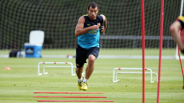 Mascherano. PHOTO: MIGUEL RUIZ-FCB.