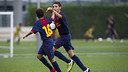 Infantil B defeats Bordeta (6-1) / PHOTO: ARCHIVE FCB