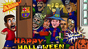 Halloween FCB with Bara Toons