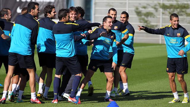 Training session / FOTO: MIGUEL RUIZ - FCB