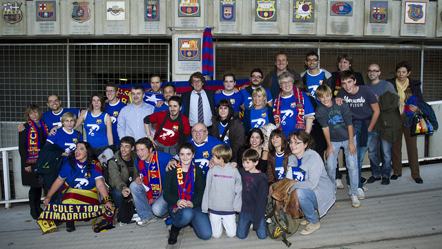 Crest inauguration of the Kölscher FC Barcelona Fan Club