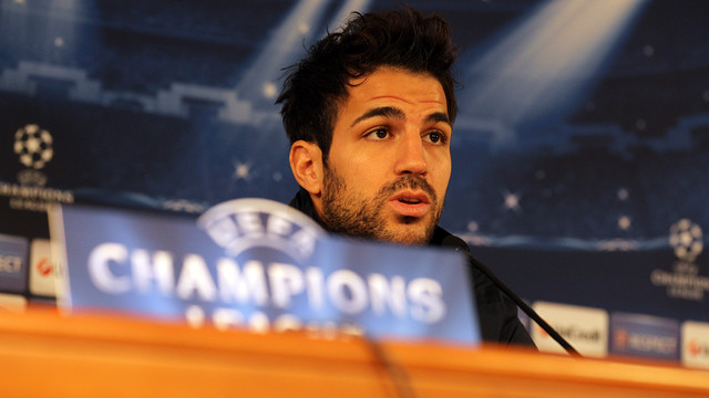 Cesc. PHOTO: MIGUEL RUIZ-FCB.