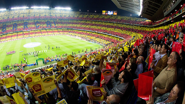 FC Barcelona vs Real Madrid at Camp Nou / PHOTO: ARXIU FCB