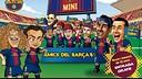 Barça Toons: Road to Miniestadi