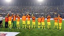 FC Barcelona's starting line-up against Levante / PHOTO: MIGUEL RUIZ - FCB