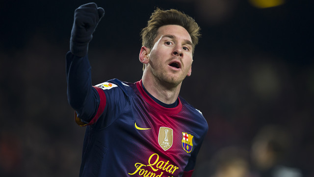 Messi / PHOTO: LEX CAPARRS-FCB