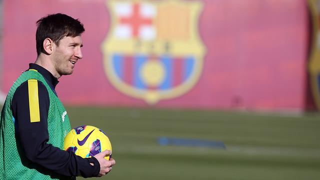 Messi this saturday / FOTO: MIGUEL RUIZ - FCB