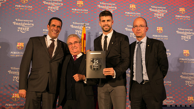 Gerard Piqué / PHOTO: GERMÁN PARGA - FCB