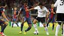 Song vs Valencia at the Camp Nou. PHOTO: MIGUEL RUIZ - FCB