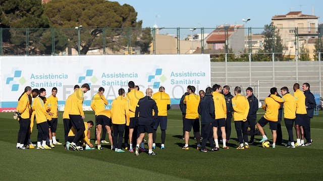 Training session 11/01/2013 / PHOTO: MIGUEL RUIZ - FCB