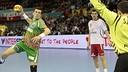 Rutenka en un partit del Mundial / FOTO: EFE
