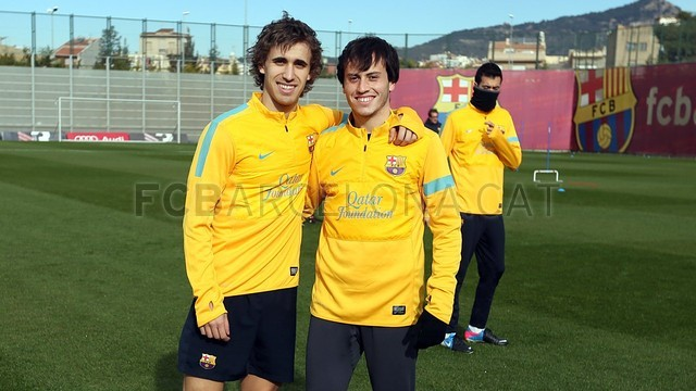Training session 14/01/2013 / PHOTO: MIGUEL RUIZ - FCB