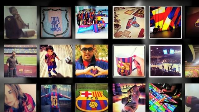 Instagram FC Barcelona