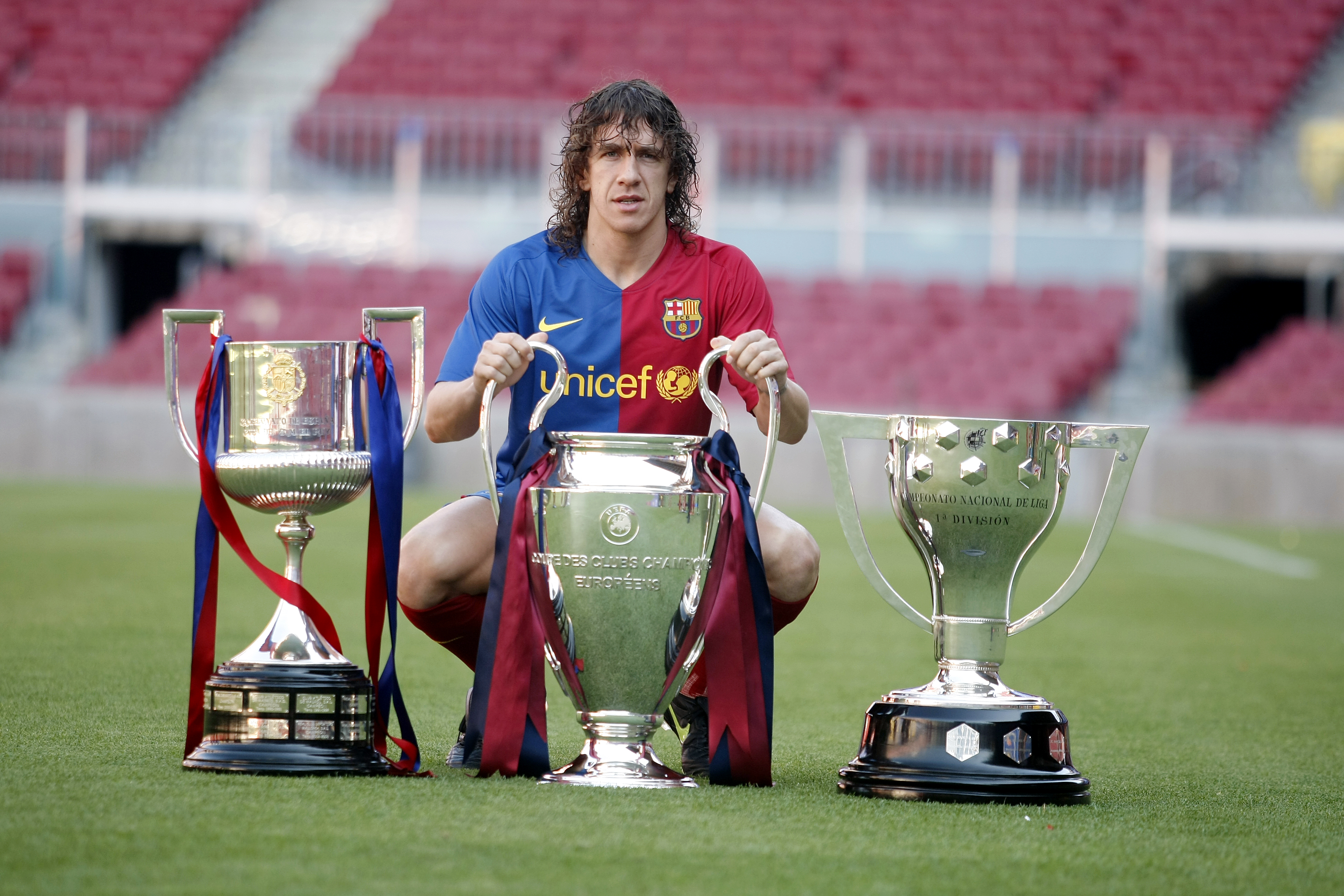10 key moments for Carles Puyol FC Barcelona