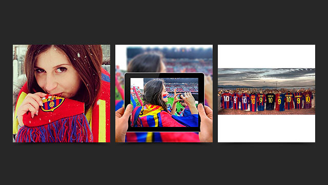 Instagram FC Barcelona: contest winners