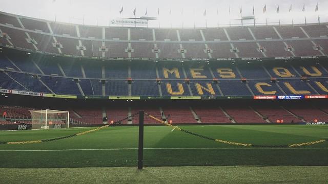 La fotografia més 'popular' del Barça-Osasuna / PHOTO: @fcbarcelona