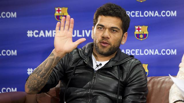 Le Barca ne veut plus vendre Dani Alves thumbnail