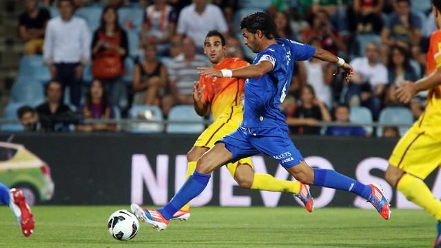 First match between Getafe and FC Barcelona this season / PHOTO: Miguel Ruiz - FCB