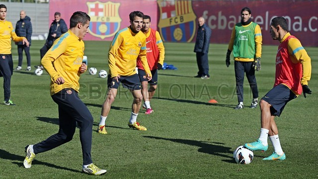 Training session 09/02/2013 | FC Barcelona