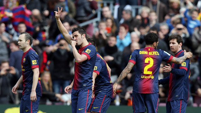 FC Barcelona's standout players against Getafe: Alexis, Messi, Villa and Iniesta | FC Barcelona
