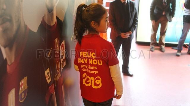 Happy Chinese New Year at Camp Nou | FC Barcelona