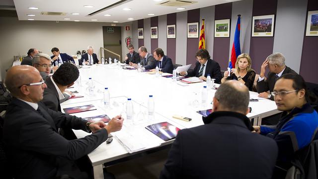 Board of Directors. Photo: FCB - Alex Caparrós