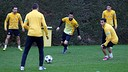 Training session 18/02/2013