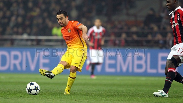 Milan - FCB. FOTO: MIGUEL RUIZ - FCB
