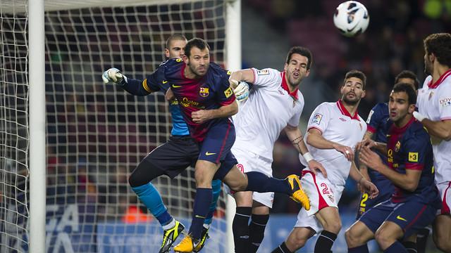L'equip acaba molt satisfet després del Sevilla | FC Barcelona