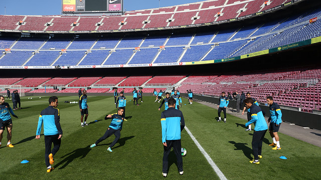 training session before the clasico FOTO: MIGUEL RUIZ-FCB.