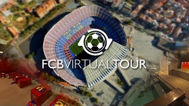 FCB Virtual Tour, the most interactive virtual experience on the FC Barcelona grounds
