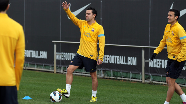 Xavi, en una imatge d'arxiu / FOTO: ARXIU FCB