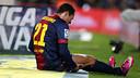 Adriano ne jouera pas ce soir / PHOTO: ARXIU FCB