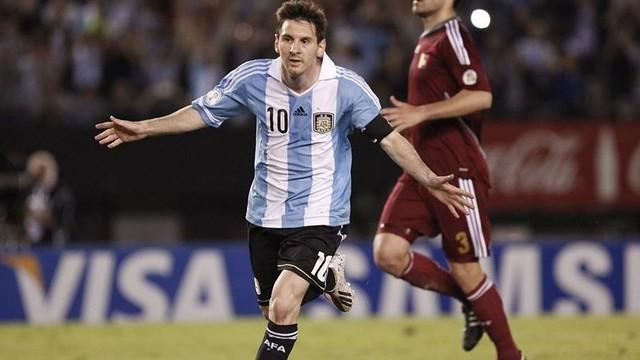 Messi, amb la selecció argentina / FOTO: FIFA.COM