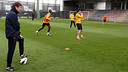 Tito takes his first training session / PHOTO: MIGUEL RUIZ - FCB